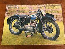 Vintage 1947 350cc Douglas Model T35 National Motorcycle Museum Postcard