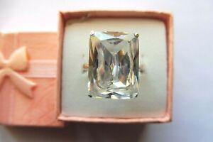 Bague cristal de roche | eBay