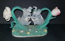 Frtiz and Floyd Charming Tails 'Bunny Buddies #89/619 Excellent Condition