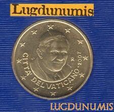 Vatican 2007 50 Centimes D'Euro FDC BU 85 000 exemplaires Provenant du BU RARE -