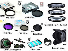 FC75u 58mm Filter Set / Lens Hood / Cap / LensPen for Canon EOS 1300D T6 18-55mm