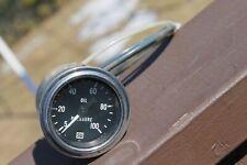 """Stewart Warner Deluxe Series Mechanical Oil Pressure Gauge 2 1/16"""" Dia.model num"""