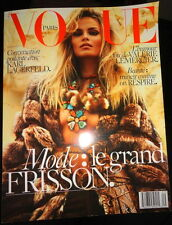 Vogue Paris 9/2015 Natasha Poly Lily Aldridge Andy Warhol Karl Lagerfeld France