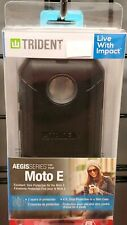 Trident Aegis Series Case for Motorola Moto E - Black #9A