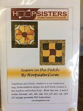 SUSAN IN THE PATCH EMBROIDERY DISK BY HOOPSISTERS #SNP002