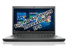 "Lenovo ThinkPad T440s i5 4200u 1,6GHz 4GB 500GB 14,1"" Win 10 Pro 1920x1080 Tasch"