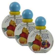 Winnie the Pooh by Disney for Girls & Boys Combo Pack: EDT 5.1oz (3x 1.7oz) UB