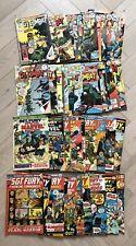 (26) GI Combat and (19) Sgt Fury Howling Commandos Lot: Marvel & DC Comic Books