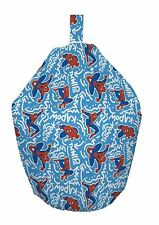 Ultimate Spiderman Popart Blue 3ft Filled Bean Bag Marvel Avengers