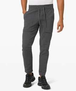 Lululemon Mens Large L Bowline Pant GGRE Graphite Gray Run Seawall Yoga New