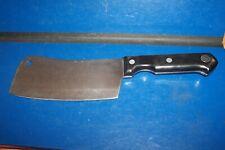 Farberware Classic 6.25 Inch Full Tang Cleaver Knife ~ with Black Handle