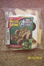 Build & Grow Avengers TANK - Featuring HULK - NIP