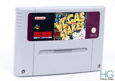 Vegas Stakes - Super Nintendo SNES Retro Game Cartridge PAL