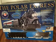 Lionel The Polar Express G Gauge train 7-11022 SET