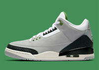 Nike Air Jordan 3 Retro Chlorophyll Green Grey Black White Cement 136064-006 Men