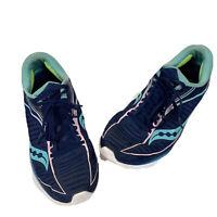 SAUCONY S10467 Ride Kinvara 10 Everun Blue Running Shoes Women's US Size 8.5