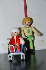 Playmobil 4407 Wheelchair Patient Hospital KID COMPLETE SET