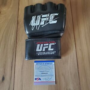 Kamaru Usman UFC Signed Autographed Glove COA PSA/DNA #AJ22579