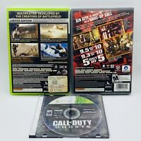 Medal of Honor, Rainbow Six Vegas & COD Ghosts Lot of 3 Video Games for XBOX 360