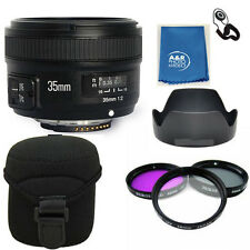 Yongnuo EF 35mm F2 N Wide Angle Lens For Nikon YN35mm KIT D5600 D5500 D3400 D810