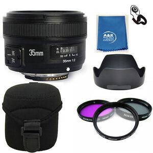 Yongnuo EF 35mm F2 N Wide Angle Lens For Nikon YN35mm KIT D5600 D5500 D3400 D810