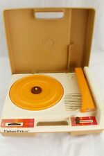 Vintage 1978 FISHER PRICE Record Player 825 Portable 33 & 45 RPM Kids Turntable