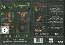 DVD - HARRY BELAFONTE : EN CONCERT LIVE / NEUF EMBALLE - NEW & SEALED