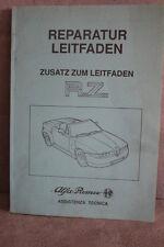 Alfa Romeo R.Z. - Reparatur Leitfaden - Mai 1993 - 190 Seiten Reparaturanleitung