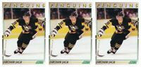 (3) 1991-92 Score Young Superstars Hockey #38 Jaromir Jagr Card Lot Penguins