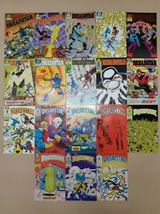 Dreadstar 1-7 9 11-14 16 17 20-22 26 (18 Issue Lot) - First Epic Comics 1982