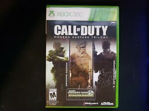 Call of Duty Modern Warfare Trilogy (Microsoft Xbox 360) Authentic - Complete