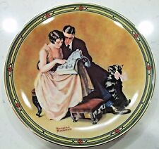"""A Couple'S Commitment"" Rockwell'S - American Dream Series Plate W/Box And Coa"