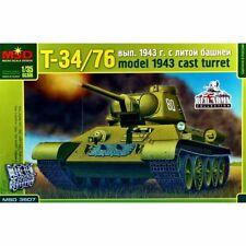 MSD 3507 T-34/76 mod.1943 (cast turret) /soviet medium tank/ 1/35