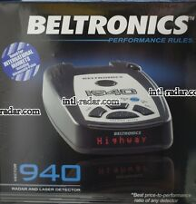 Beltronics Vector 940i laser Radar Detector firmware international Euro Asia