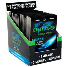 ELITE OPS ENERGY STRIPS / 60 STRIPS (Counter Unit) - FIERCE MINT