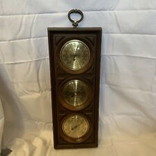 VTG Springfield Instrument Co. Thermometer Barometer and Humidity Meter