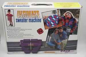 Bond Caron The Ultimate Sweater Machine w/ Original Box EUC USA Made