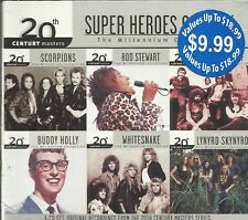 Super Heros Of Rock ( 3 CDs 20th Century Masters) $0.99 SHIPPING U.S