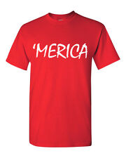 Merica #2 T Shirt Tee Americana USA Pride Patriotic T-Shirt Labor Day Holiday