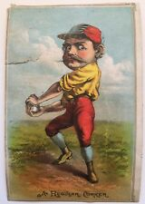 1880's A Regular Corker Baseball Trade Card