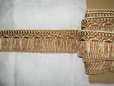 16 METRES DE GALON ANCIEN PASSEMENTERIE DE LYON--AVEC FILS D/'OR--N°GER58