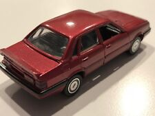 OEM Audi 90 Quattro Red Met. 1:43 die cast model by Schabak Modell No.1030/31