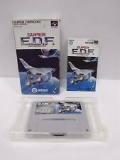 SUPER EARTH DEFENSE FORCE EDF -- Boxed. Super famicom, SNES. Japan game. 12005-2