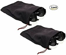 Shoe Storage Bags 100% Cotton with Drawstring For Men and Women (Set of 2)
