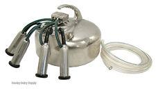 Surge Cow Bucket Milker - Medium bore - rebuilt by Hamby Dairy Supply