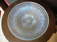 Coupe Tournesol en Verre Opalescent Made in France Verlys Sabino Etling