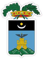 Spezia stemma coat of arms Italy provincia etichetta sticker adesivo  9cm x 13cm