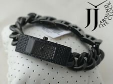 New MICHAEL KORS Hayden Black Crystal Chain Women's Watch Watch MK3308