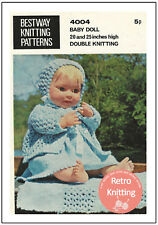 Clothes for a 20-25 inch Baby Doll - Knitting Pattern Copy