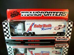 Jeff Gordon #1 Baby Ruth 1992 1:87 Racing Team Transporter Matchbox